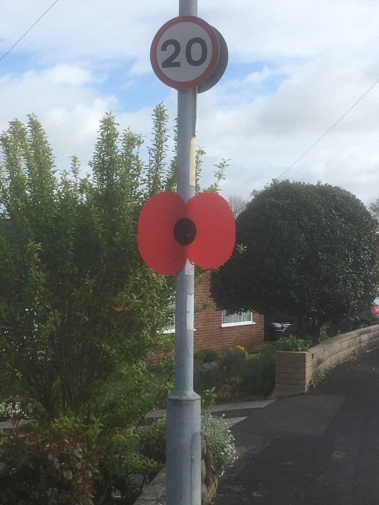 Lamp post Poppy